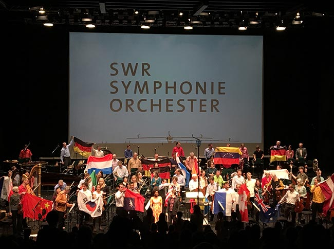 Offenes Orchester, SWR Symphonieorchester