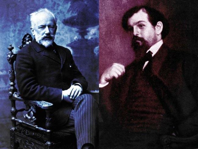 Tschaikowski und Debussy, Fotonachweis Wikimedia Commons