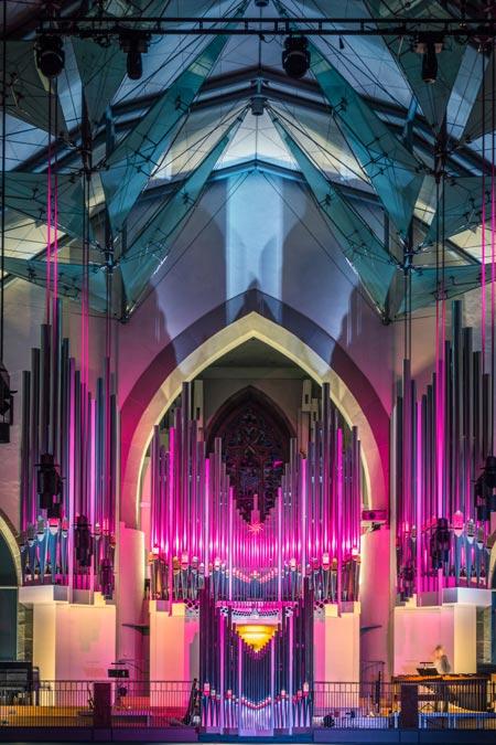 Orgelführung, Fotograf Luca Taukert