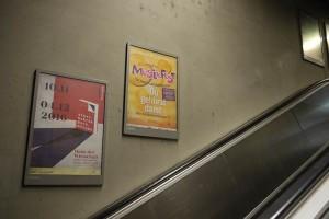 Musikfest 2016: Plakate U-Bahnstationen. Fotograf: Ralf Püpcke