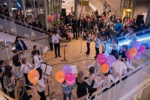 Musikfest 2016: Musikschulfest 30.11.16 Treffpunkt Rotebühlplatz. Fotograf: Moritz Metzger
