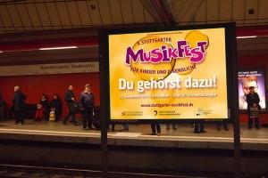 Musikfest 2016: Infoscreens. Fotograf: Ralf Püpcke