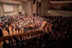 Musikfest 2016: Eröffnungskonzert 27.11.16 Liederhalle. Fotograf: Moritz Metzger