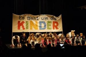 Musikfest 2016: Die Konferenz der Tiere 29.11.16 Treffpunkt Rotebühlplatz. Fotograf: Ralf Püpcke