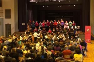 Musikfest 2016: Das Weihnachtsgeheimnis 11.12.16 Festhalle Feuerbach. Fotograf: Ralf Püpcke