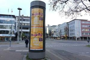 Musikfest 2016: CLP Plakatierung. Fotograf: Ralf Püpcke